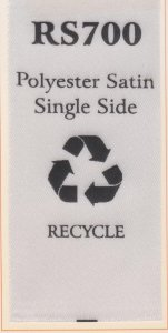 RECYCLE SATEN